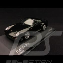 Porsche 959 1987 noire 1/43 Minichamps 400062522