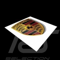 Porsche Autocollant  Crest sticker Wappen-Aufkleber 6.5 x 5 cm WAP013002
