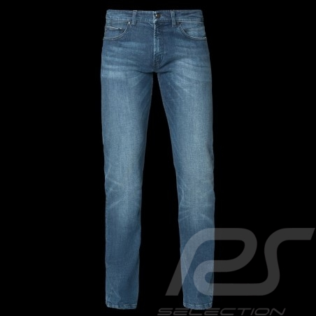 Jeans Porsche Basic Porsche Design 40469016755 bleu délavé blue washed blau leichter waschung homme men herren