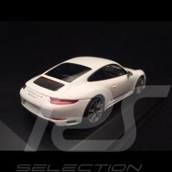 Porsche 911 Carrera T type 991 phase 2 2018 weiß Grand prix 1/43 Minichamps CA04319003