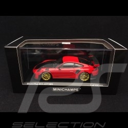 Porsche 911 GT2 RS type 991 guards red / carbon 1/43 Minichamps 410067227