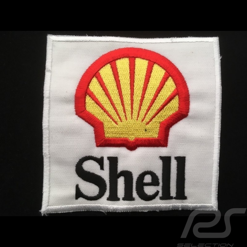 Badge à coudre to sew-on zum aufnähen Shell