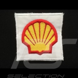 Shell Badge to sew-on