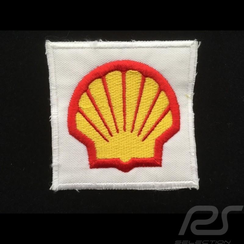 Shell Badge zum aufnähen