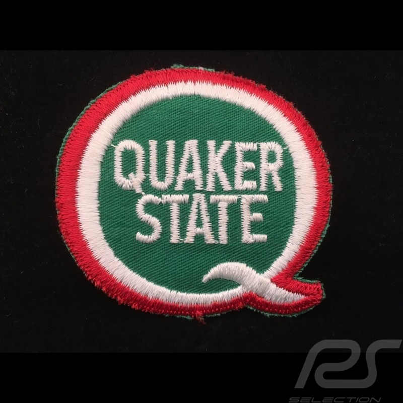 Quaker State Badge to sew-on
