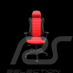 Siège de bureau ergonomique Head Point RS Sport Rouge simili cuir Made in Germany Ergonomic office armchair Ergonomischer Bürost