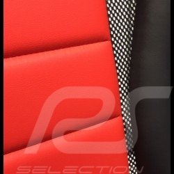 Ergonomic office armchair Head Point RS Sport Red leatherette Made in Germany