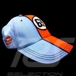 Cap Gulf Vintage 69 Lucky Number blue / orange