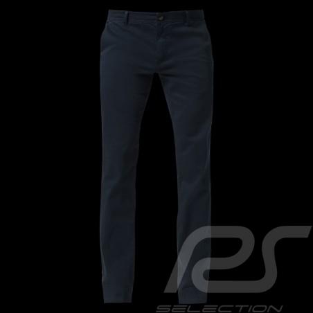 Porsche trousers Slim Fit Basic Chino Navy blue comfort fit Porsche Design 40469018555 - men