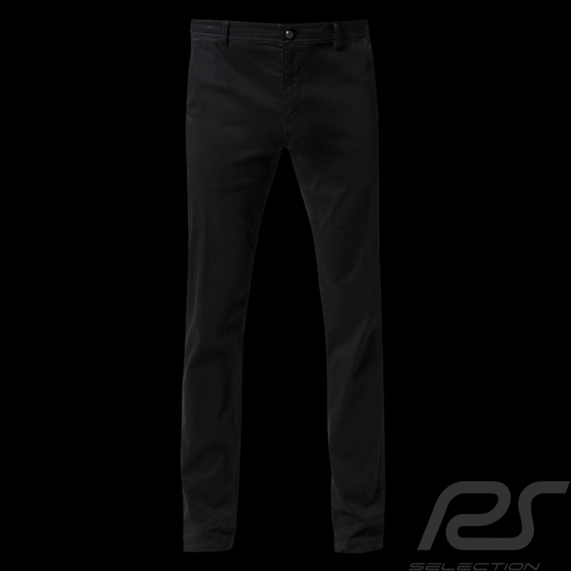 Pantalon Trousers Hose Porsche Chino Slim Fit Basic noir confortable et chic Porsche Design 404690185545 - homme