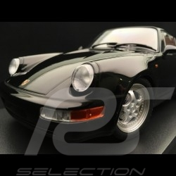 Porsche 911 type 964 Turbo 1990 glänzend schwarz 1/18 Minichamps 155069104