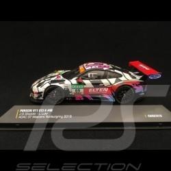 Porsche 911 GT3 R 991 Iron Force Racing n° 69 ADAC GT Masters Nürburgring 2018 1/43 IXO CMRGT010