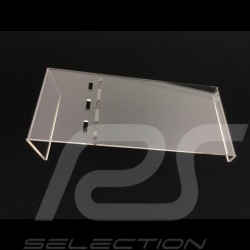 Display ramp 1/18 inclined in length  Anti-scratch acrylic  premium quality