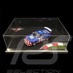 Vitrine diorama 1/18 circuit virage course Acrylique anti-rayures qualité premium Showcase Präsentationsrampe Race track Rennest