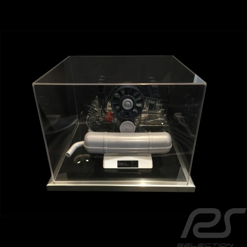 Vitrine anti-poussière pour moteur Porsche flat 6 Acrylique qualité premium Dustproof Showcase Staubdicht