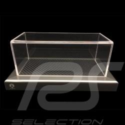 1/43 Showcase Base carbon appearance / Aluminum surround Acrylic premium quality