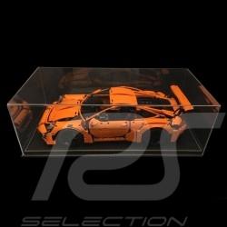 Staubdicht Vitrine für Lego Porsche 1/8 Porsche Schwarzer Kunstleder Boden premium quality
