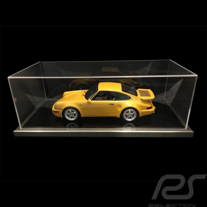 1/12 Vitrine für Porsche Modelle schwarze Base / Aluminium Rahmen premium quality