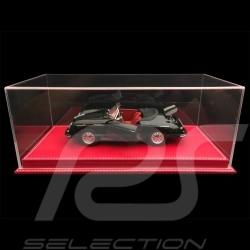 1/18 Vitrine für Porsche Modelle Boden Rote Kunstleder premium quality