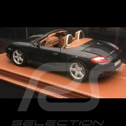 1/18 showcase for Porsche model expresso coffee leatherette base premium quality