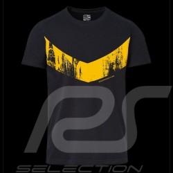 T-shirt Porsche GT4 Clubsport Boîte collector Edition limitée WAP347LCLS mixte unisex noir jaune black yellow sch
