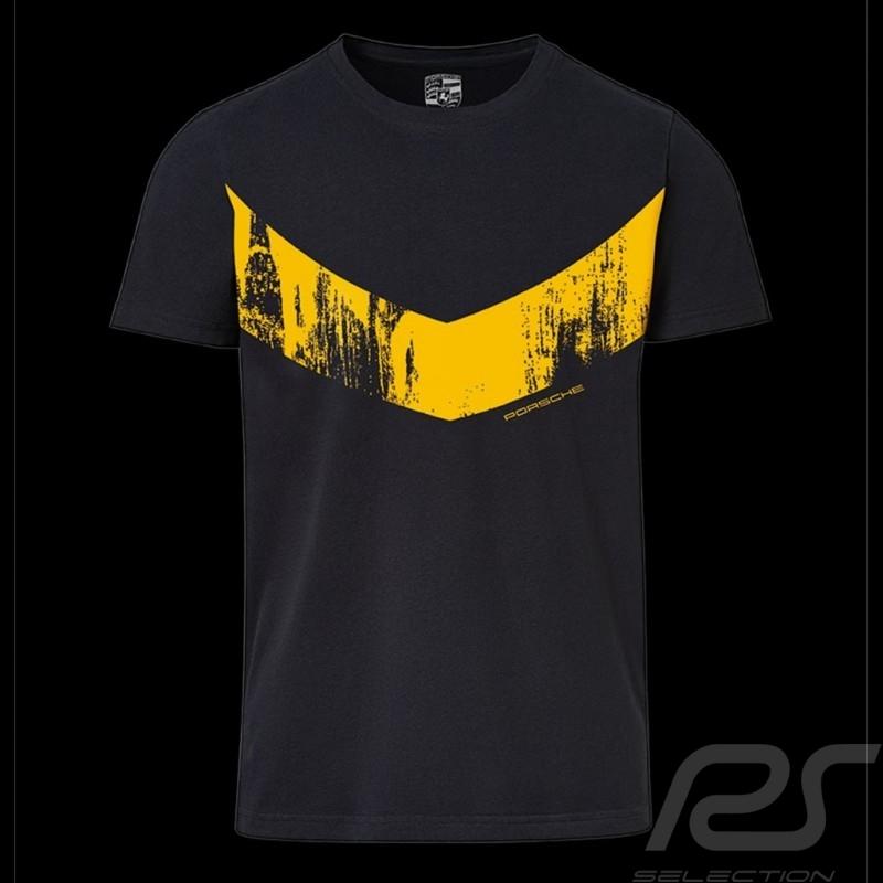 Porsche T-shirt GT4 Clubsport black / yellow Collector box Limited Edition Porsche Design WAP347LCLS - unisex
