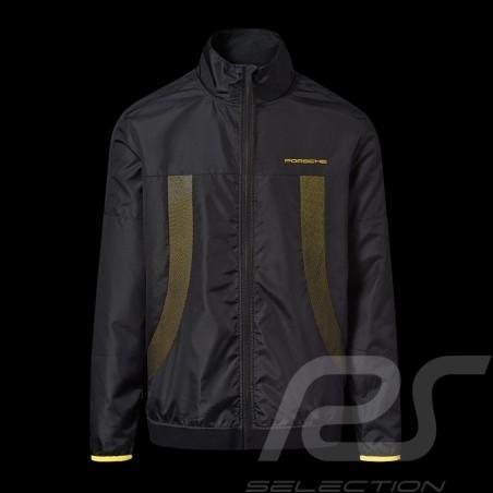 Veste coupe-vent windbreaker jacket jacke Porsche GT4 Clubsport noir / jaune WAP349LCLS - mixte