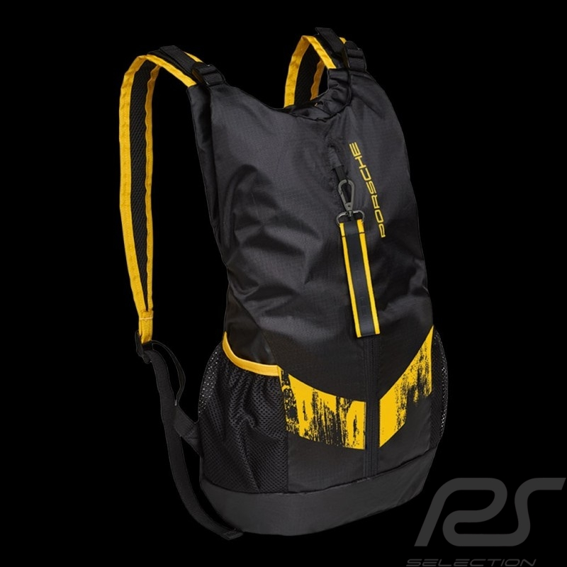 Porsche backpack GT4 Clubsport ultra lightweight black / yellow  WAP0353400LCLS