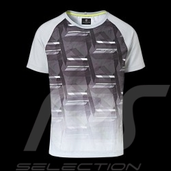 Porsche Sport Collection T-shirt grau Mesh Porsche Design WAP542K0SP - Herren