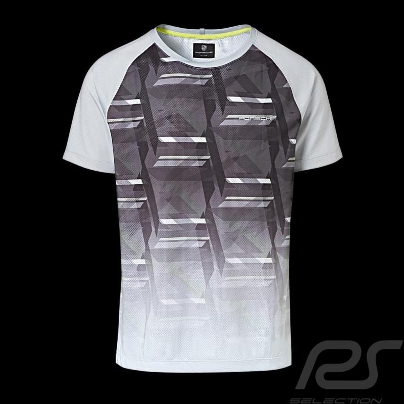 Porsche Sport Collection T-shirt grau Mesh Porsche Design WAP542K0SP - Herren