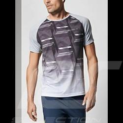 T-shirt Porsche Sport Collection Mesh Porsche Design WAP542K0SP gris grey grau homme men herren