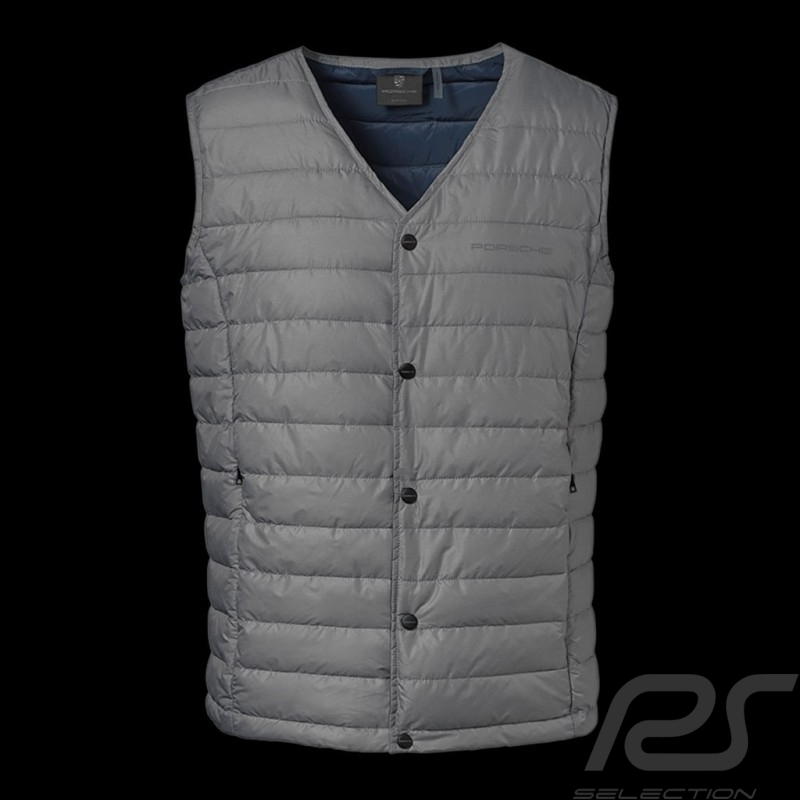 Porsche quilted Jacket Urban Explorer sleeveless grey Porsche Design WAP207LUEX - men