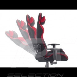 Ergonomic office armchair Racing RS red / black Fabric Adjustable gaming chair
