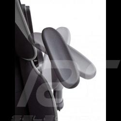 Ergonomic office armchair Racing RS grey / black Fabric Adjustable gaming chair