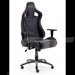 Ergonomic office armchair Racing Nova black Leatherette Comfortable seat