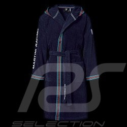 Peignoir Bathrobe Bademantel Porsche Martini Racing avec capuche Porsche WAP555L0MR - homme