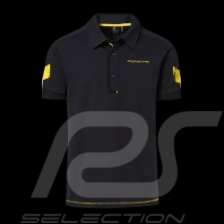 Porsche Polo shirt GT4 Clubsport black / yellow Porsche Design WAP344LCLS - Men
