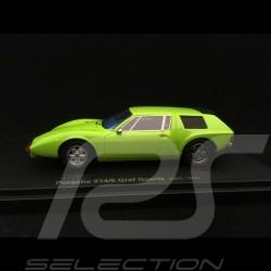 Porsche 914 /6 Graf Goertz Prototype 1970 green 1/43 Autocult 60023
