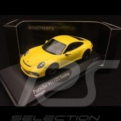 Porsche 911 GT3 type 991 Touring Package 2018 Gelb 1/43 Minichamps 410067421