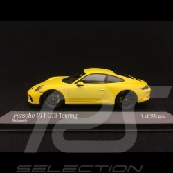Porsche 911 GT3 type 991 Touring Package 2018 yellow 1/43 Minichamps 410067421