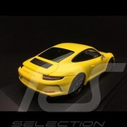 Porsche 911 GT3 type 991 Touring Package 2018 1/43 Minichamps 410067421 jaune yellow gelb