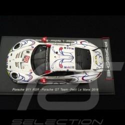 Porsche 911 RSR type 991 Petit Le Mans 2018 n° 912 Porsche GT Team 1/43 Spark S5849