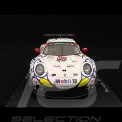 Porsche 911 RSR typ 991 Petit Le Mans 2018 n° 912 Porsche GT Team 1/43 Spark S5849