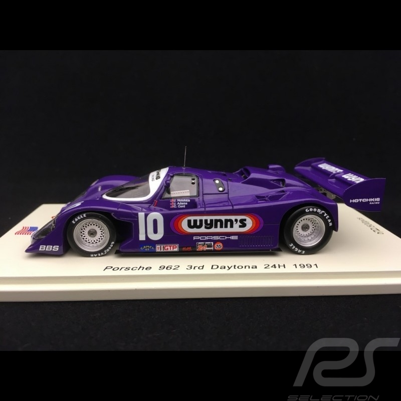 Porsche 962 Wynn's 24h Daytona 1991 n° 10 1/43 Spark US042