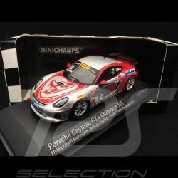 Porsche Cayman GT4 Clubsport MR Pirelli World Challenge 2017 n° 3 Flying Lizard 1/43 Minichamps 437171603