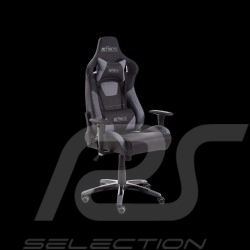 Ergonomic office armchair Racing Nova grey / black Leatherette Comfortable seat
