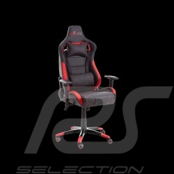 Ergonomic office armchair Racing Nova red / black Leatherette Comfortable seat