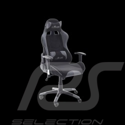 Ergonomic office armchair Racing RS grey / black Fabric Adjustable gaming chair