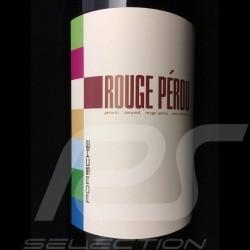Bouteille de vin 50 ans Porsche 911 bordeaux Rouge Pérou 2011 bottle wine flasche wein