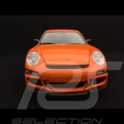 Porsche 911 GT3 RS 997 phase II orange /  schwarzen streifen 2007 1/18 Welly 18015